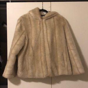M&S Alexa Chung faux fur jacket